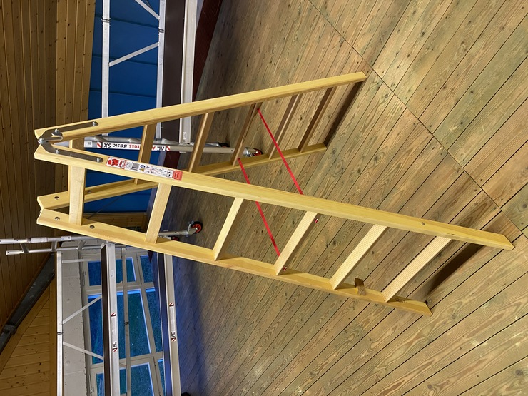 Jumbo Holzleiter 2 x 6