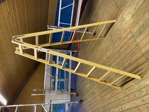 Jumbo Holzleiter 2 x 8