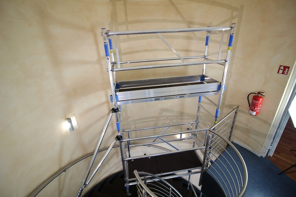 Miet-Treppengerüst